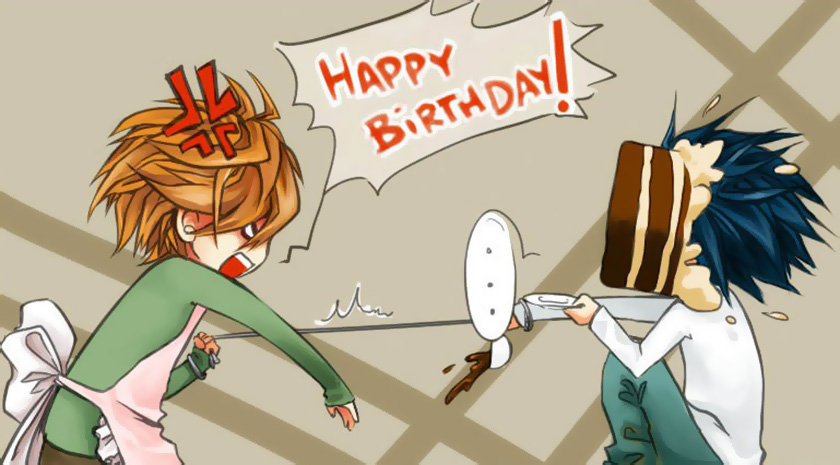 Картинка аниме поздравления
